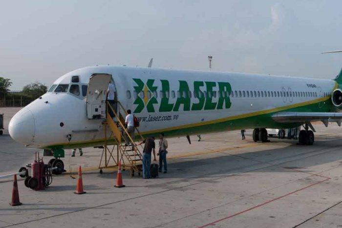Laser Airlines suspende operaciones por orden del INAC