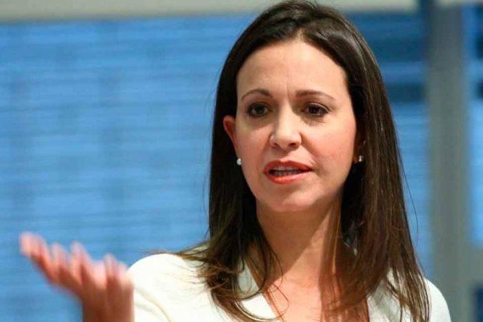 Machado asegura que el 20 de mayo se acaba el reconocimiento a Maduro