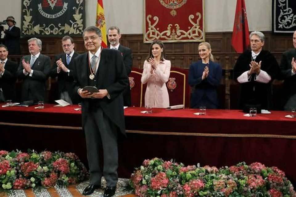 Sergio Ramírez recibe el premio Cervantes, abril de 2018