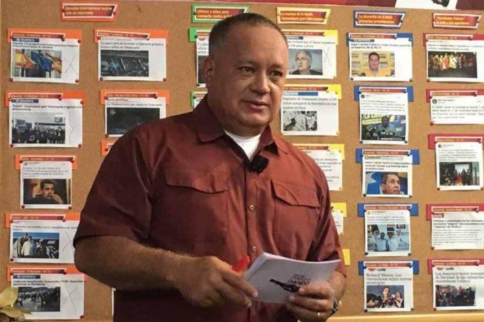 Jueces no convalidan ataques de Diosdado Cabello a la prensa en Nueva York
