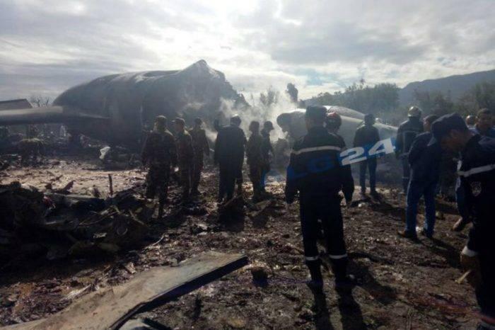 Al menos 257 personas murieron en accidente aéreo registrado en Argelia