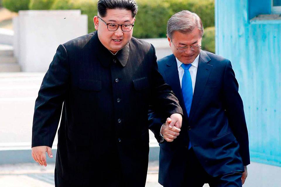 Acuerdo de paz-dos coreas. Foto: RTVE.es