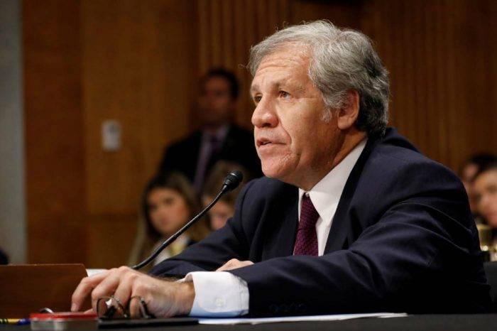 Secretario de la OEA pide endurecer sanciones contra gobierno de Maduro
