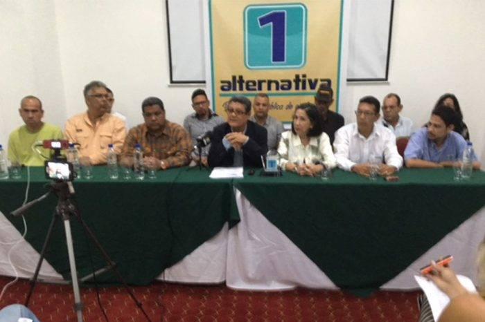 Dirigente de Alternativa 1 reclama transparencia en el financiamiento político