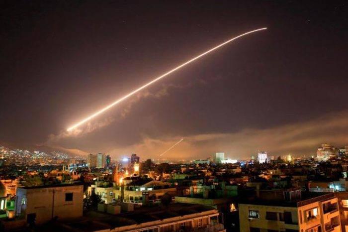 Ataque a Siria. Foto: CNN en español