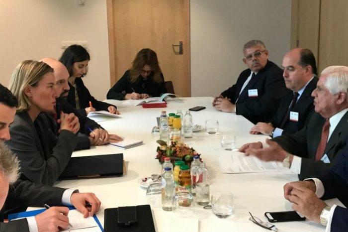 Mogherini: Queremos que en Venezuela haya elecciones claras y creíbles
