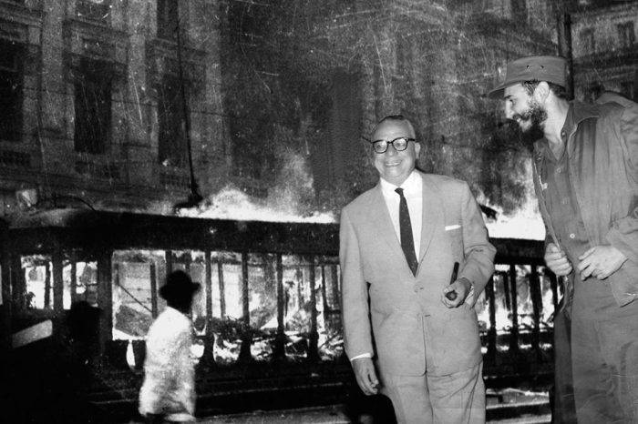 Bogotazo-Betancourt y Fidel. Montaje: GV