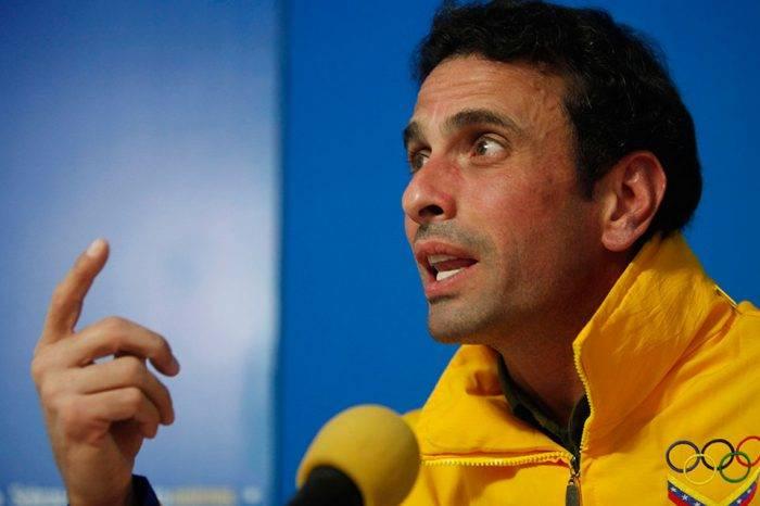 """Capriles pidió a oposición un """"debate urgente"""" para dar soluciones a la crisis"""