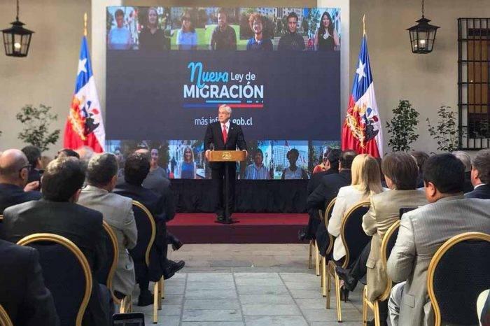 Chile Sebastián Piñera Migración