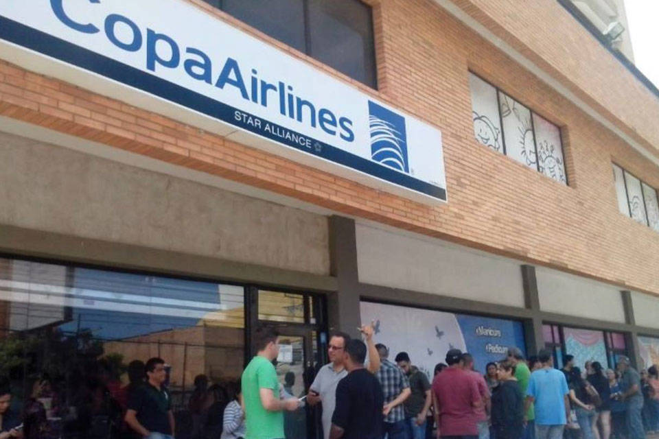 Copa Airlines. Foto: El Carabobeño