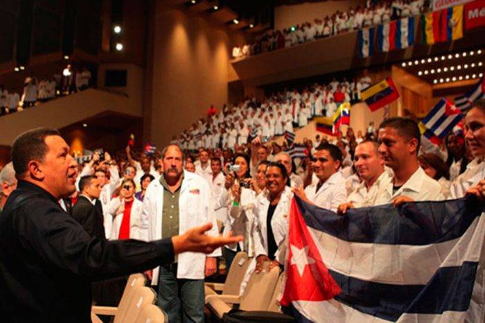 Cubanos en Venezuela. Foto: La Patilla
