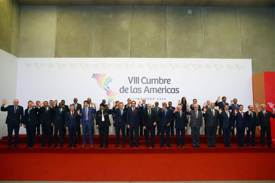 Cumbre de Lima 2018. Foto: EFE