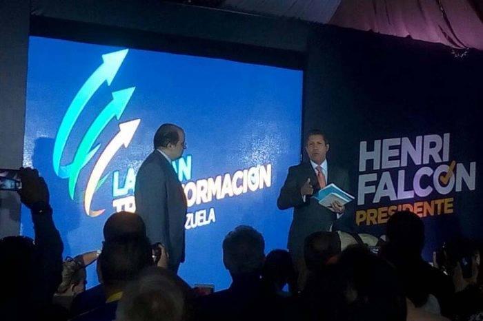 Henri Falcón trata de derrotar la abstención con su propuesta económica
