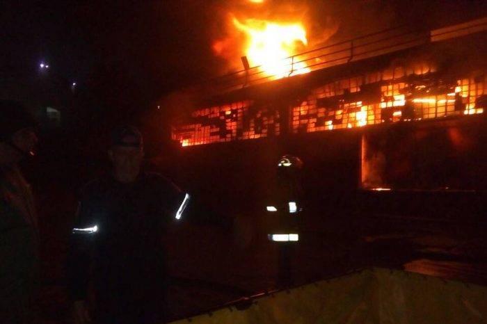 Se registró un incendio en galpones de Corpomiranda en Los Teques