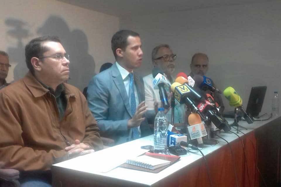 Juan Guaidó Negal Morales Víctor Márquez