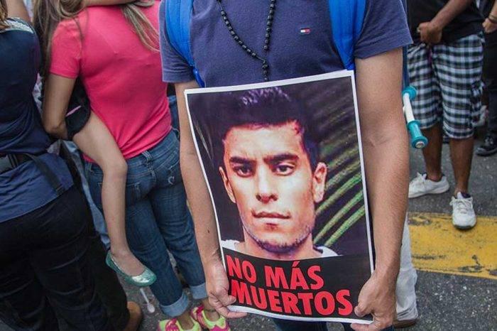 Juan Pablo Pernalete asesinado protestas 2017