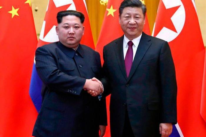 Kim Jong un y Xi Jinping. Foto: Televisa News