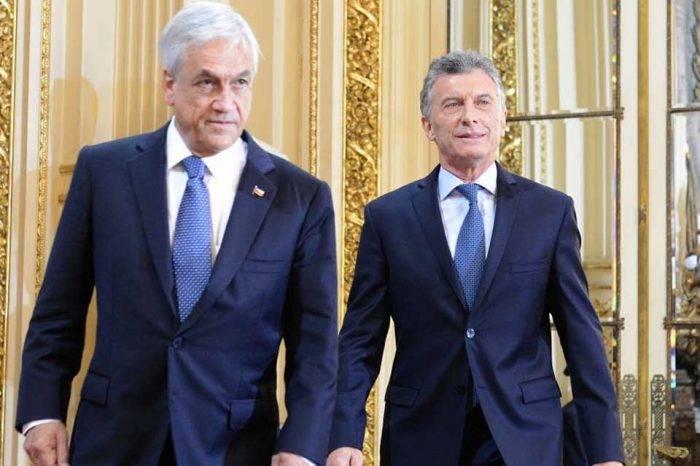 Mauricio Macri Sebastián Piñera