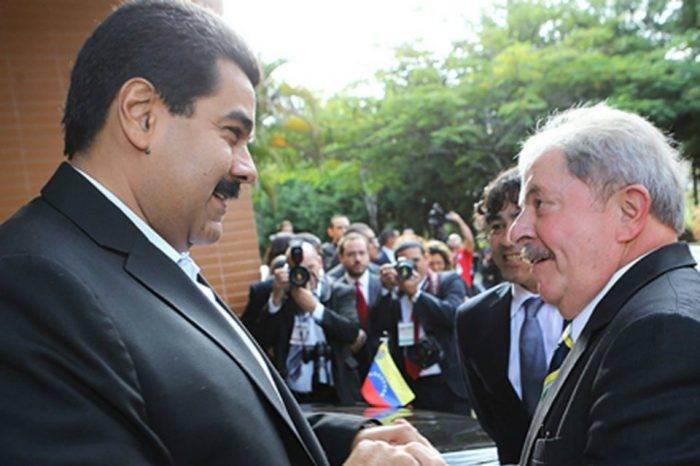 Maduro y Evo Morales mandan su abrazo de solidaridad a Lula da Silva