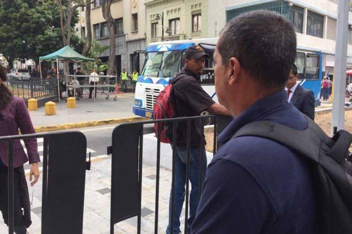 """Constituyente es el """"policía"""" de los medios para ingresar a la Asamblea Nacional"""