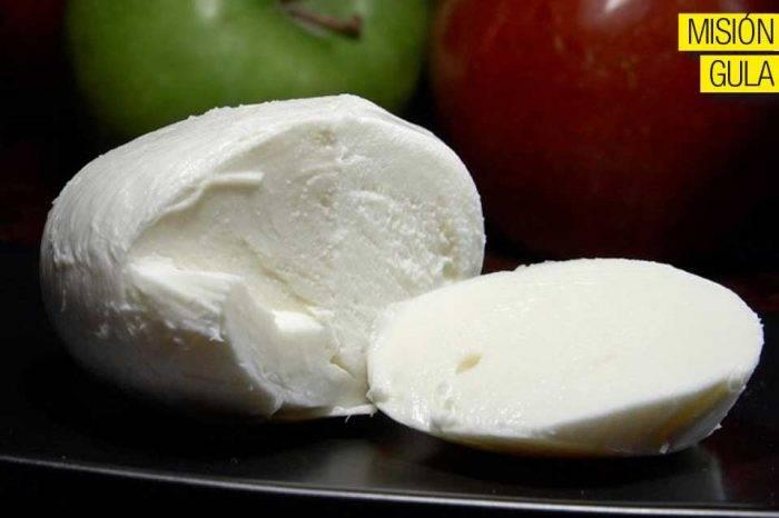 El queso de búfala en la cocina nacional