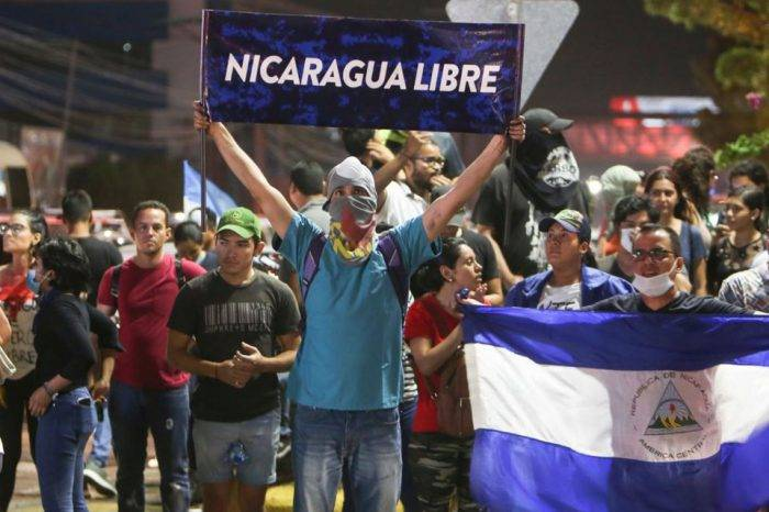 Nicaragua protestas. Foto: El Informador