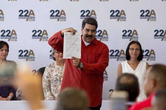 Impugnaron ante el CNE la candidatura de Nicolás Maduro a la reelección