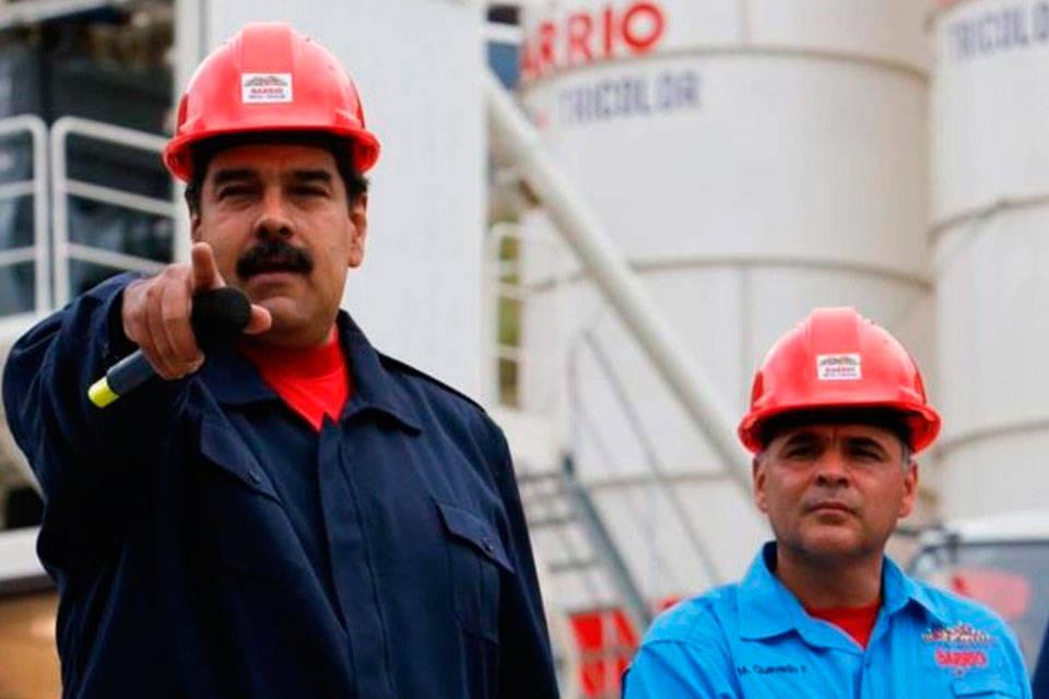 Nicolás Maduro y Gral. Manuel Quevedo. Foto: El Venezolano