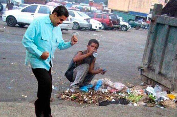 Maduro es miseria, comunismo y dictadura, por CristianSilva Potellá