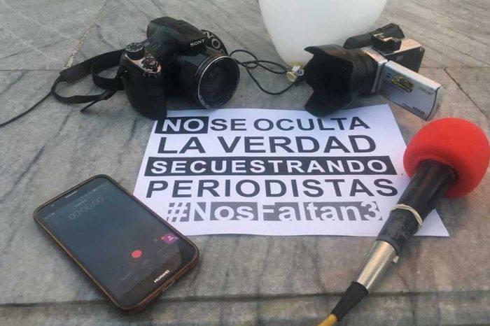 Periodistas secuestrados Ecuador censura