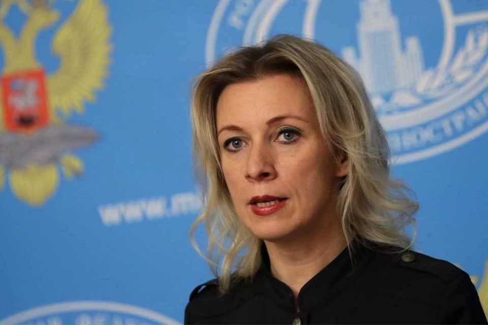 Portavoz cancillería Rusia María Zajárova
