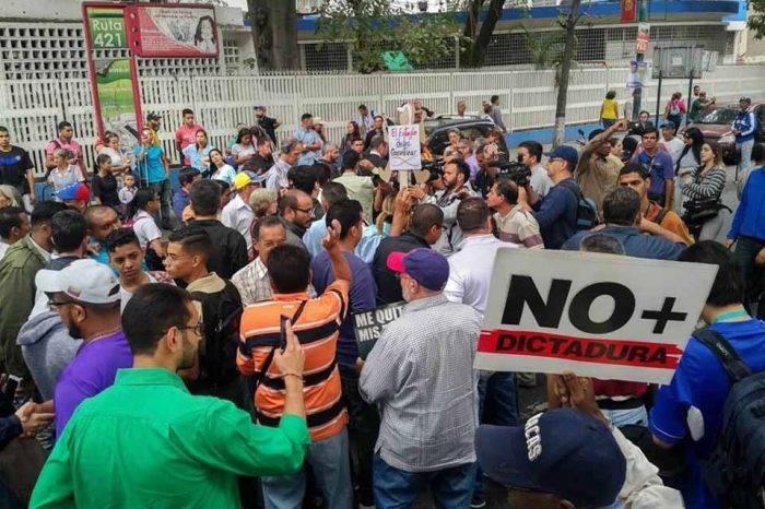 Protestas Frente Amplio Venezuela Libre