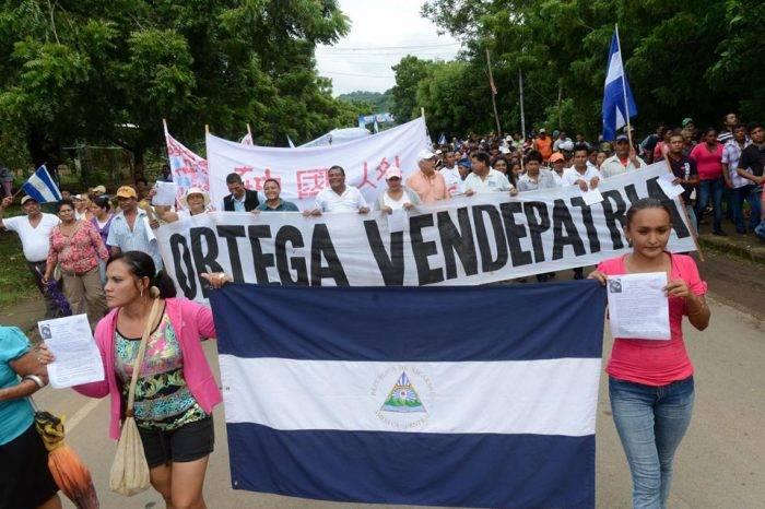 Protestas en Nicaragua. Foto: MRS