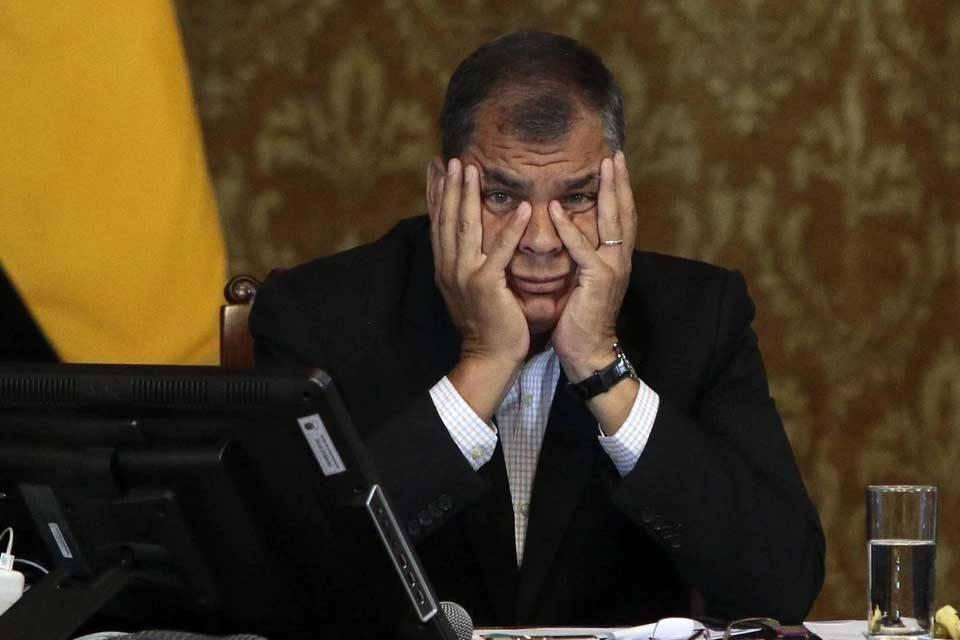 Rafael Correa es acusado por corrupción