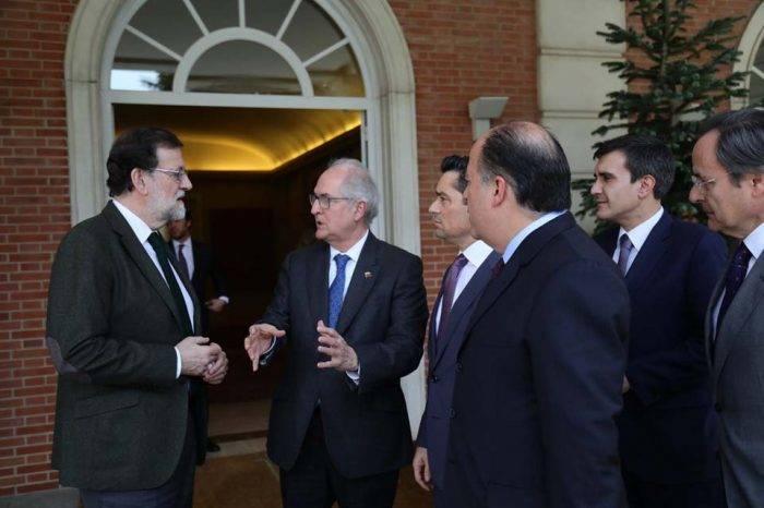 Mariano Rajoy asegura que el pueblo venezolano sigue contando con España