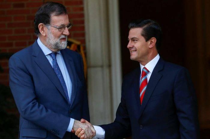 """Peña Nieto y Rajoy hablaron sobre la """"difícil situación"""" que hay en Venezuela"""