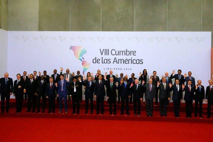 VIII Cumbre de las Américas. Foto: Noticias SIN