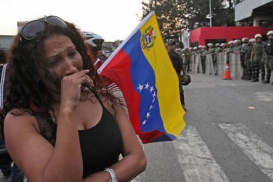 Venezolana deprimida. Foto PanAm Post