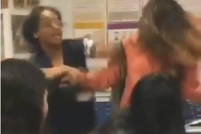 #VIDEO | Adolescente venezolana es golpeada fuertemente en escuela de Miami