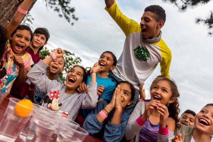 Buscan llevar la experiencia de campamento a 1.000 niños de escasos recursos
