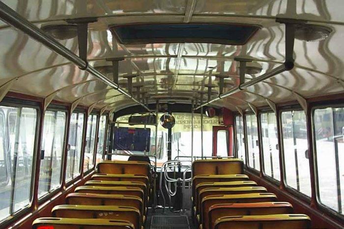 Caracas en autobús, por Tulio Ramírez