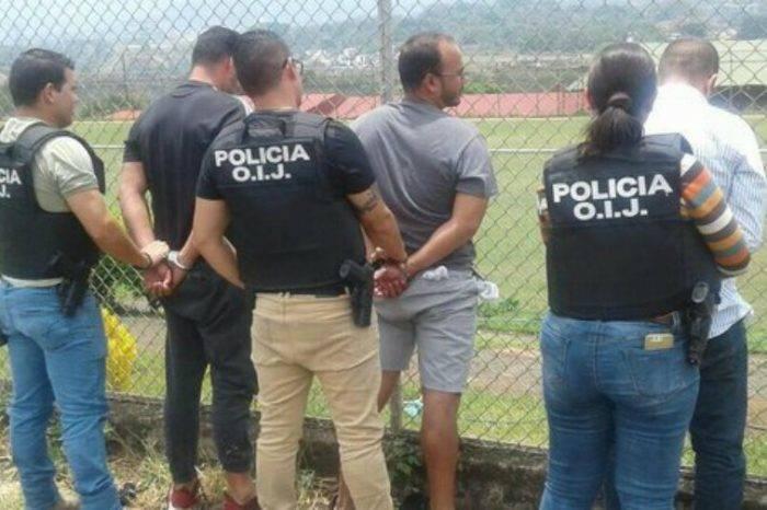 Arrestan a tres venezolanos en Costa Rica por clonar tarjetas de débito y robar cajeros