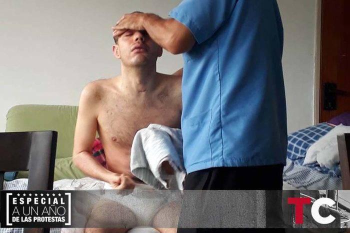 La herida que no se borra luego de las protestas: el caso de Daniel Infante