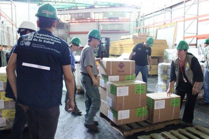 Rusia entregó 8,5 toneladas de medicamentos a Venezuela