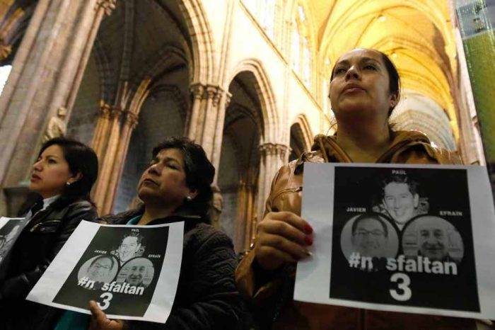 Asesinato de periodistas ecuatorianos ocurrió en territorio colombiano