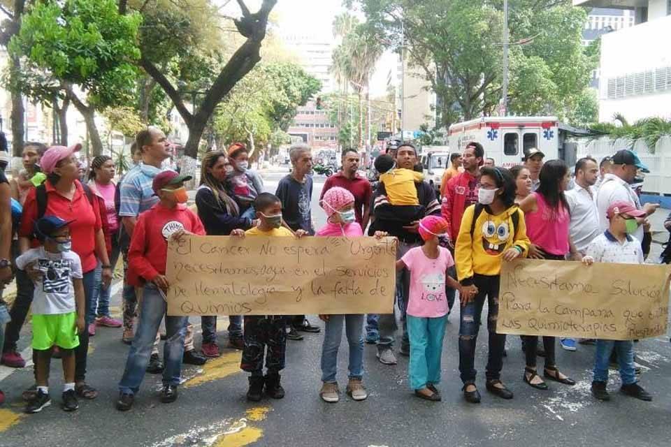 protesta JM de los Ríos abril 2018