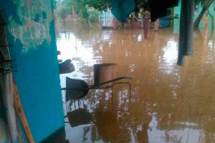12 mil familias en La Guajira han quedado damnificadas tras las fuertes lluvias