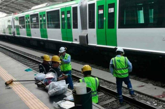 """En estado """"reservado"""" joven venezolano que se lanzó a las vías del tren en Lima"""