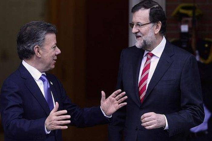 Rajoy y Santos