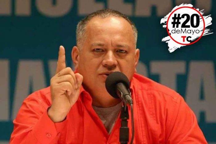 Para Diosdado Cabello los puntos rojos no afectan en nada el derecho al voto